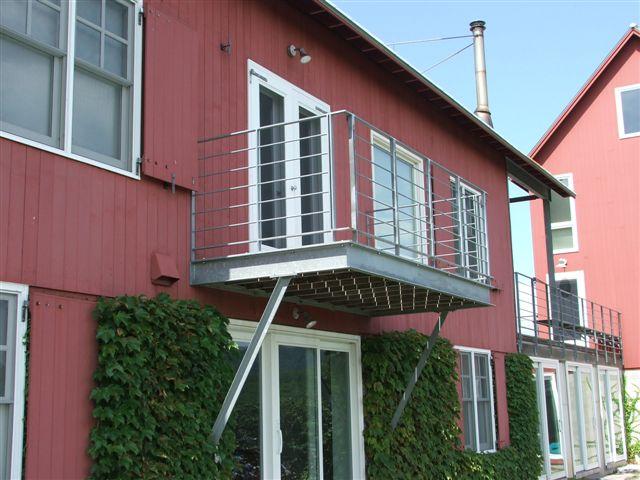 Exterior galvanized project, Bridport,VT