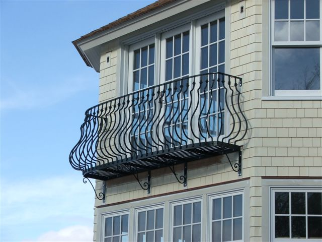 Exterior balcony - CT