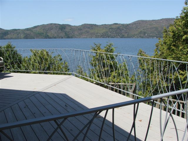 Custom Exterior Deck Railing - VT
