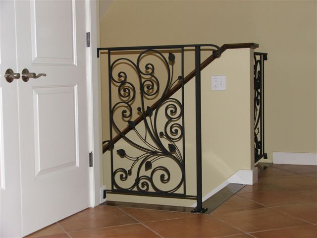 Custom Ironwork Railing - VT