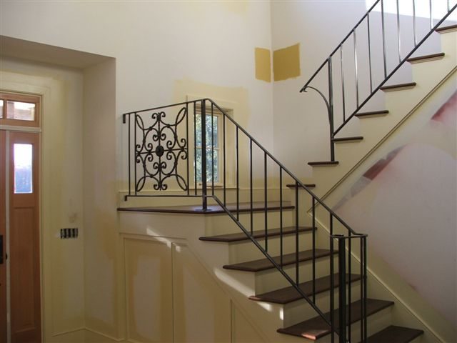 Custom Interior Stair Railing - VT