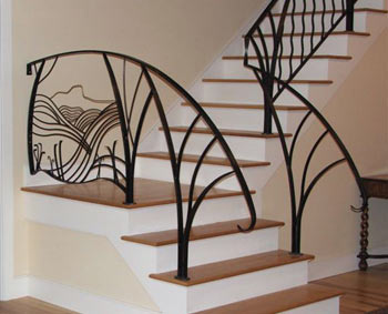 Custom Staircase Railing